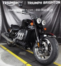 2018 Triumph Rocket III Roadster Phantom Black