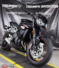 2018 Triumph Street Triple RS Phantom Black