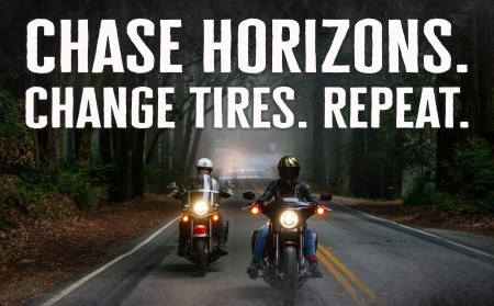 Chase Horizons. Change Tires. Repeat