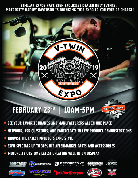 MotorCity V-Twin Expo 2019