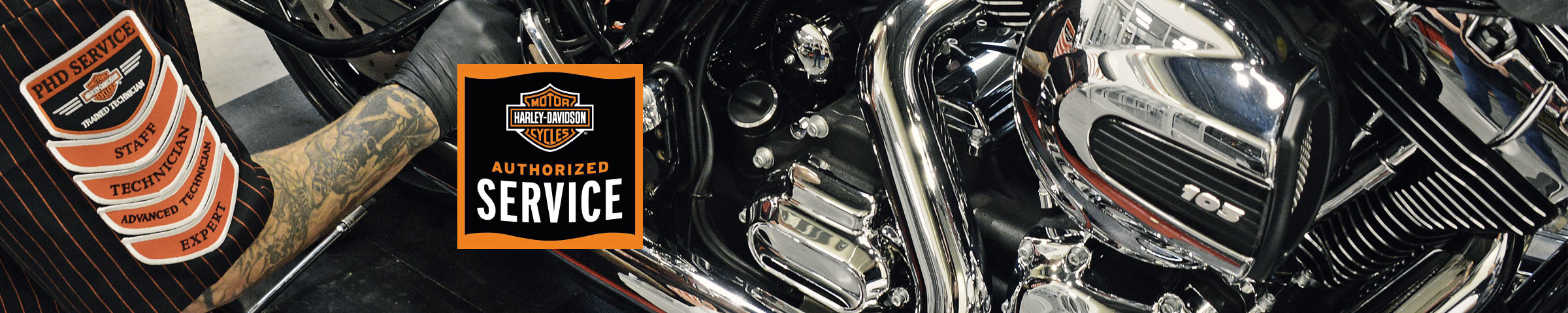 Grizzly Harley-Davidson® Service Department