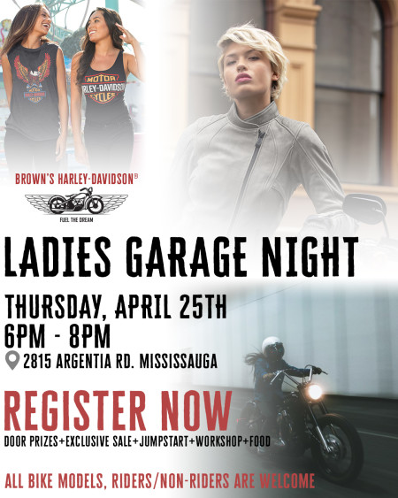 Ladies Garage Night