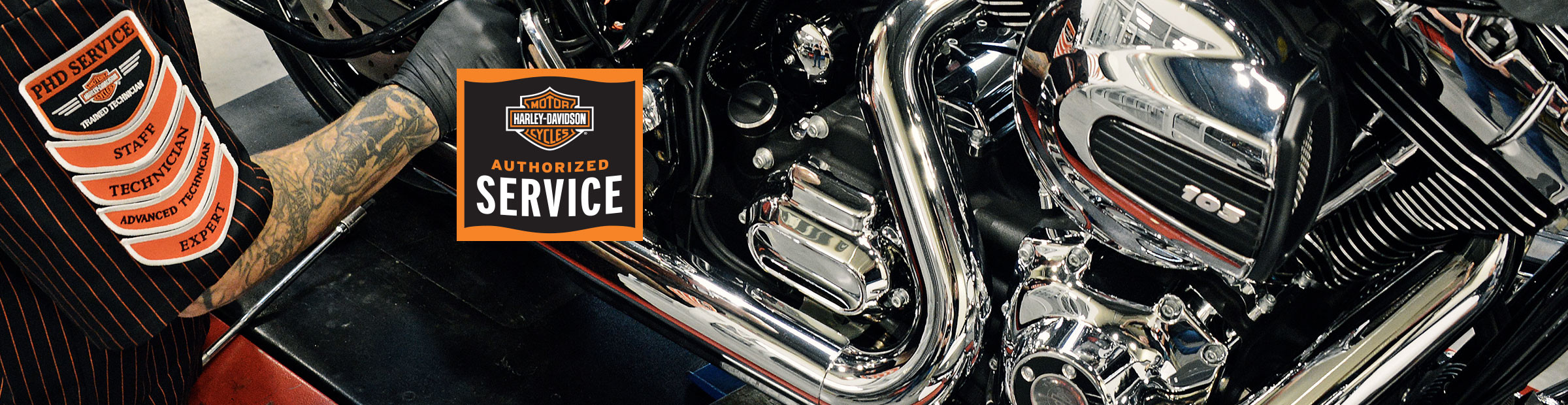 Service Your Harley at Lawless Harley-Davidson