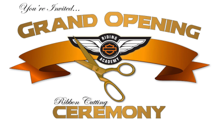 New H-D Riding Academy Range Ribbon Cutting Ceremony