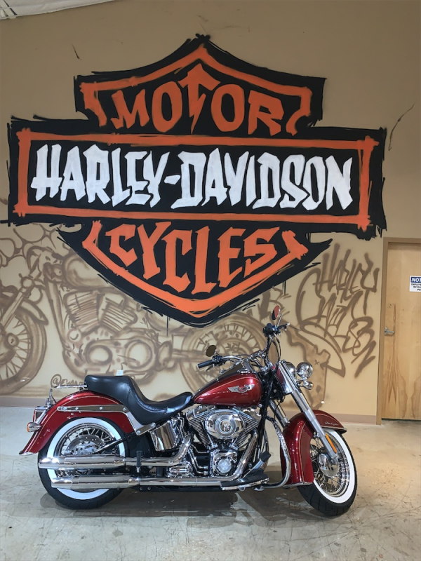 ** 2009 H-D FLSTN Softail Deluxe ** Red Tagged