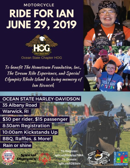 Ocean State Chapter H.O.G. - Ride for Ian