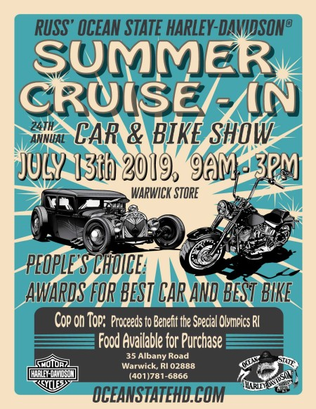 Summer Cruise In: 24th Annual Car and Bike Show