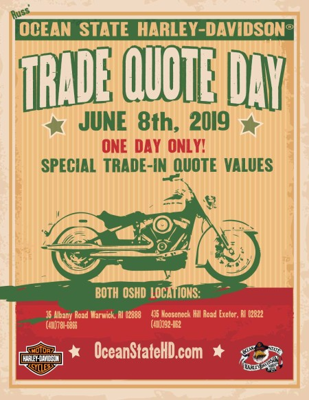 Trade Quote Day: We Want Your Bike!