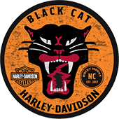Black Cat Harley-Davidson<sup>®</sup> logo
