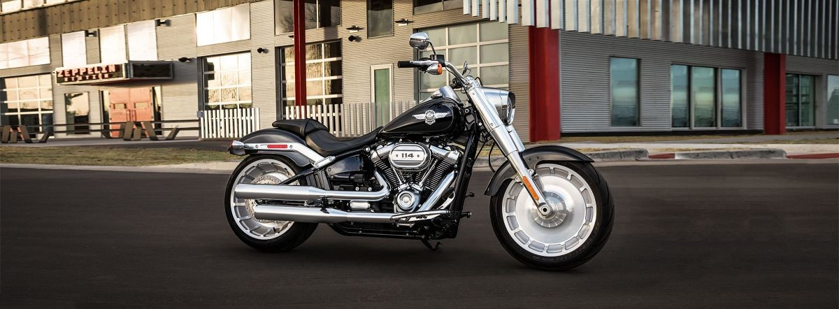 2019 HARLEY FLFBS - Softail Fat Boy<sup>®</sup> 114