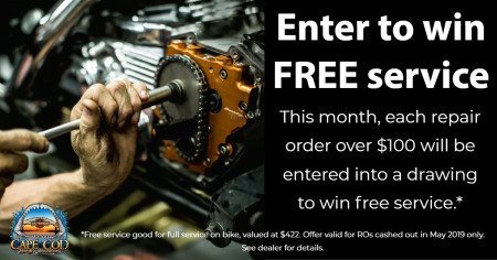 Enter to win FREE service