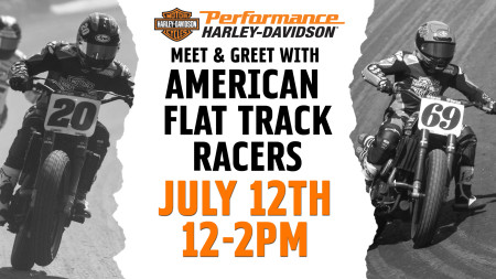 Meet American Flat Track Racers at PHD!