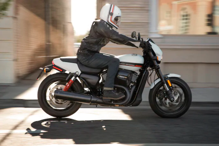 Get 5.49% APR and $0 Down on Used Harley-Davidson Street® Motorcycles