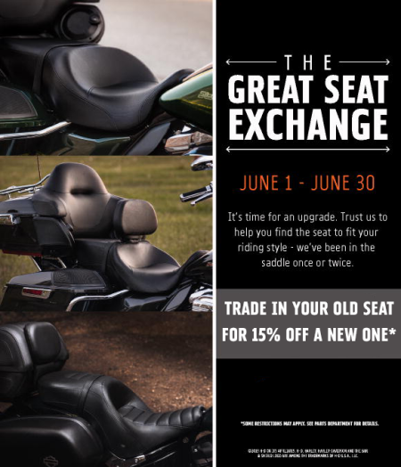 the Great Seat Exchange!