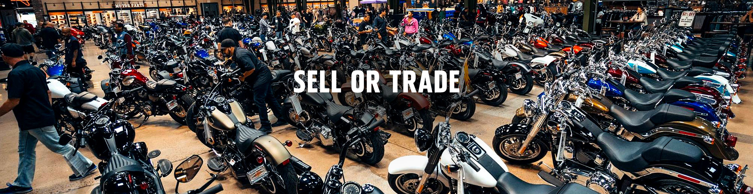 Sell your Harley<sup>®</sup>