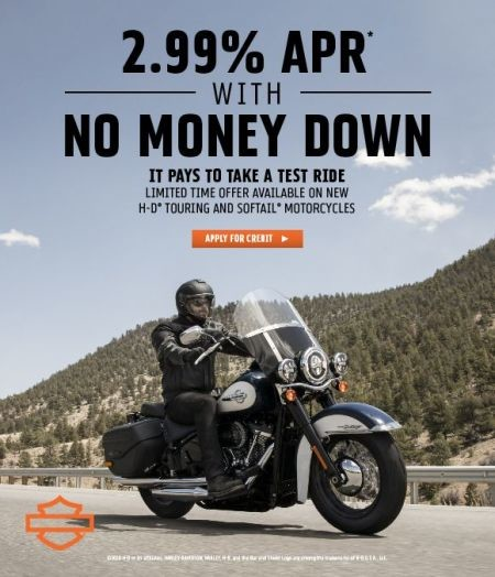 Don't Miss the Limited Time 2.99% APR Offer*