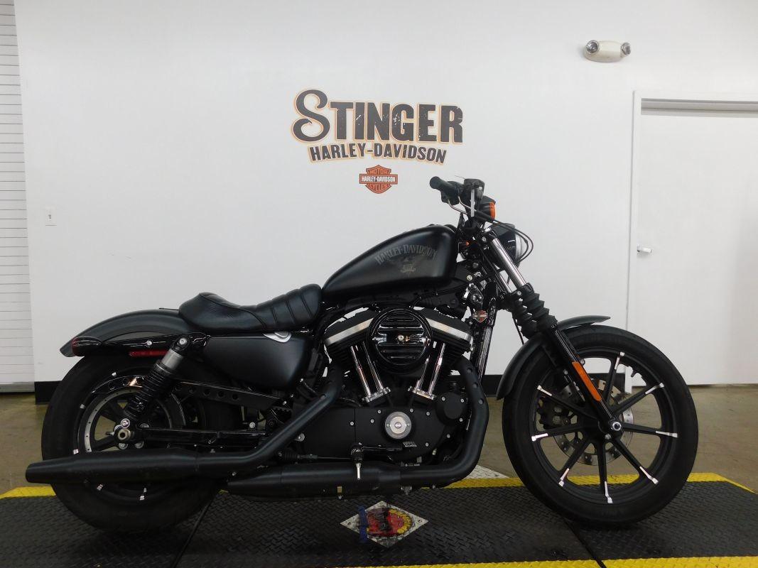 Harley Davidson Motorcycles >> 2016 Harley Davidson Sportster Iron 883 Xl883n Used Motorcycle For Sale Medina Ohio