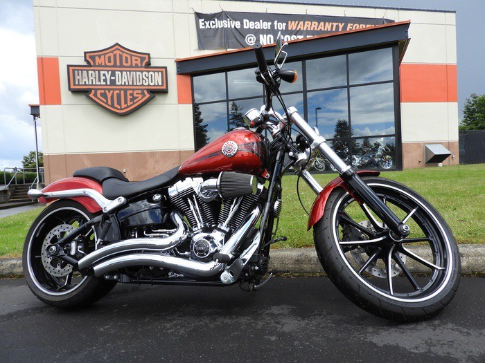 Used 2013 HD FXSB103 Breakout