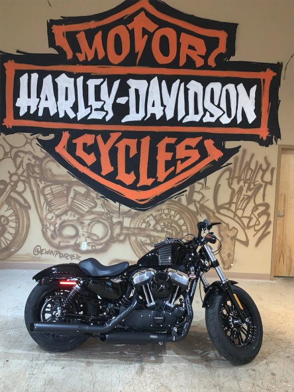 2016 H-D XL 1200x Forty-Eight Sportster