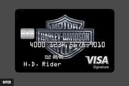 H-D Visa Card Introductory Offer