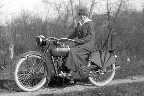 MEET LILLIAN HAUERWAS, EARLY FEMALE MOTORCYCLE RIDER AND MENTOR