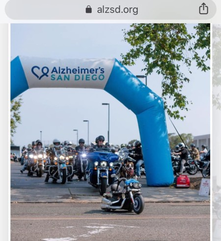 SDRIDES4ALZ - Charity Ride