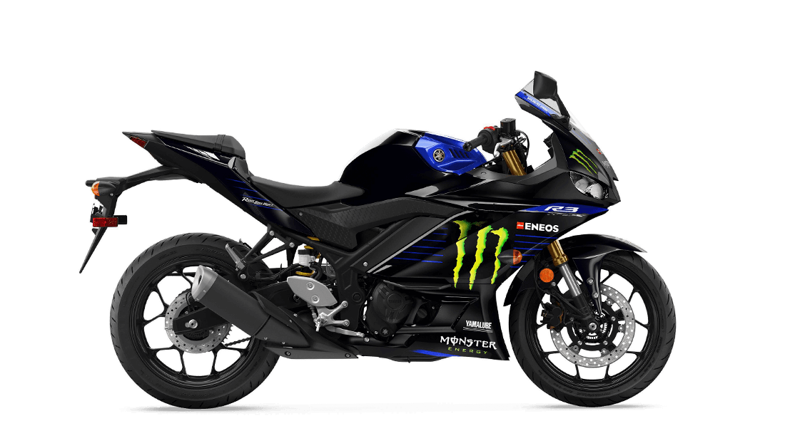 2020 YZF-R3 Monster Energy Yamaha MotoGP Edition