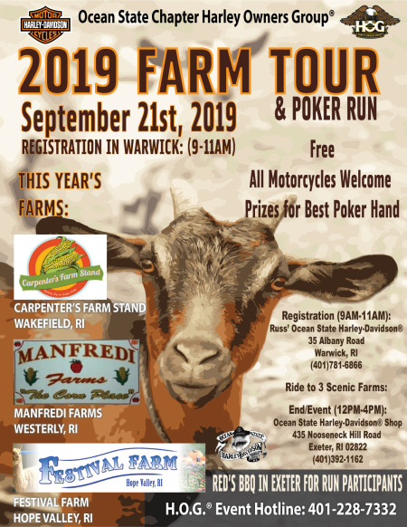 2019 Farm Tour & Poker Run