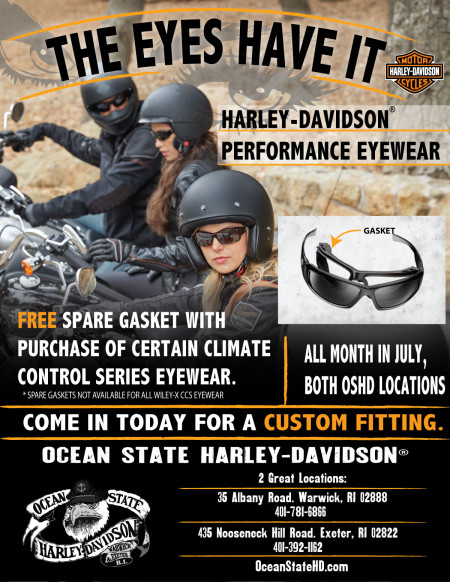 The Eyes Have it:  Harley-Davidson Performance Eyewear by Wiley-X
