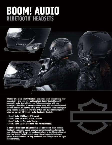 Appalachian Harley-Davidson® Bluetooth Headsets