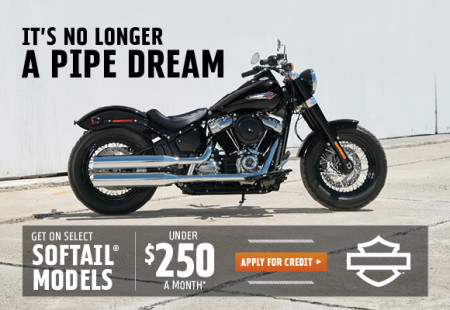 GET ON SELECT SOFTAIL® MODELS