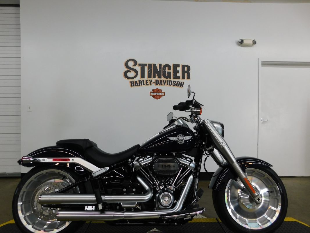 2019 HARLEY-DAVIDSON Softail Fat Boy 114 FLFBS