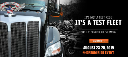 DEMO TRUCK EVENT @ DREAM RIDE EVENT