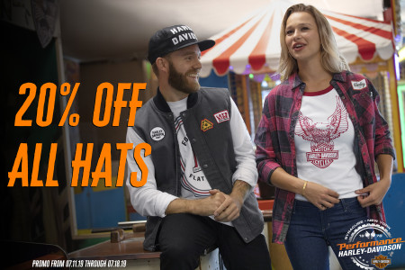 20% Off Hats