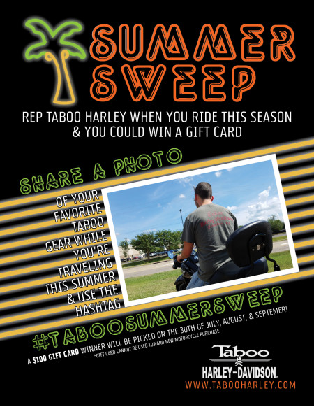 Taboo Summer Sweep