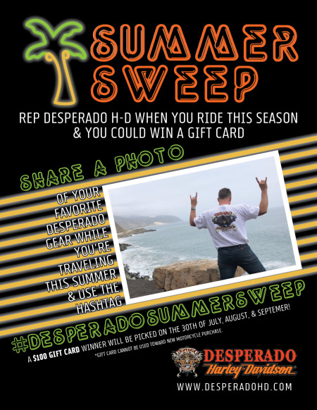 Desperado Summer Sweep