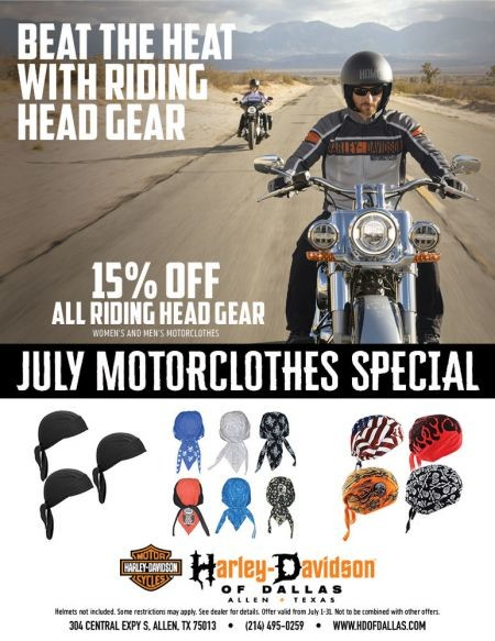 BEAT THE HEAT WITH RIDING GEAR!