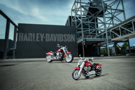 Riders Rejoice as LEGO Group Introduces LEGO® Creator Expert Harley-Davidson® Fat Boy®