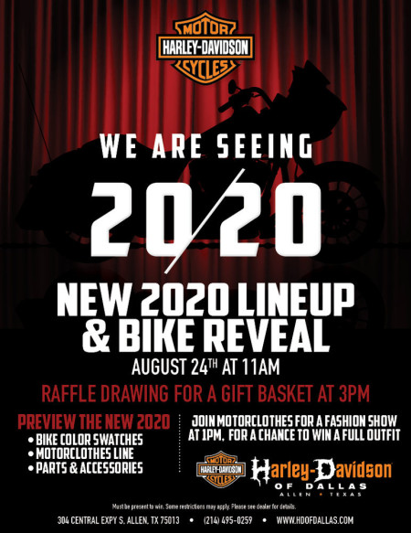 2020 Reveal & FALL FASHION SHOW!