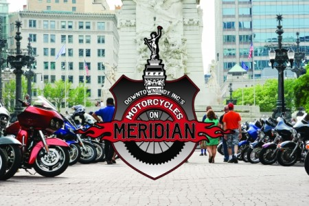 Downtown Indy, Inc.'s Motorcycles on Meridian