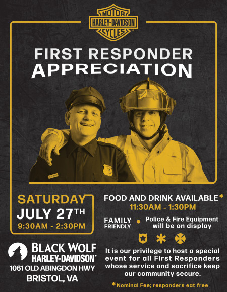 First Responder Appreciation Event