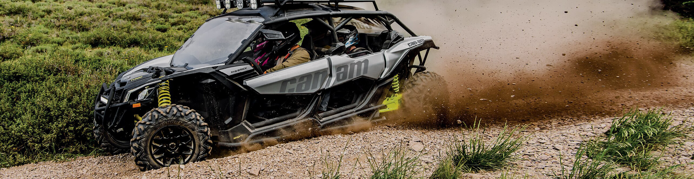 2020 Can-Am side-by-side vehicles