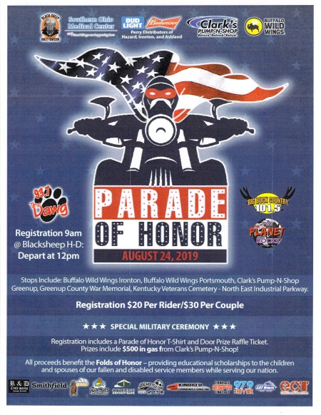 Parade of Honor Ride