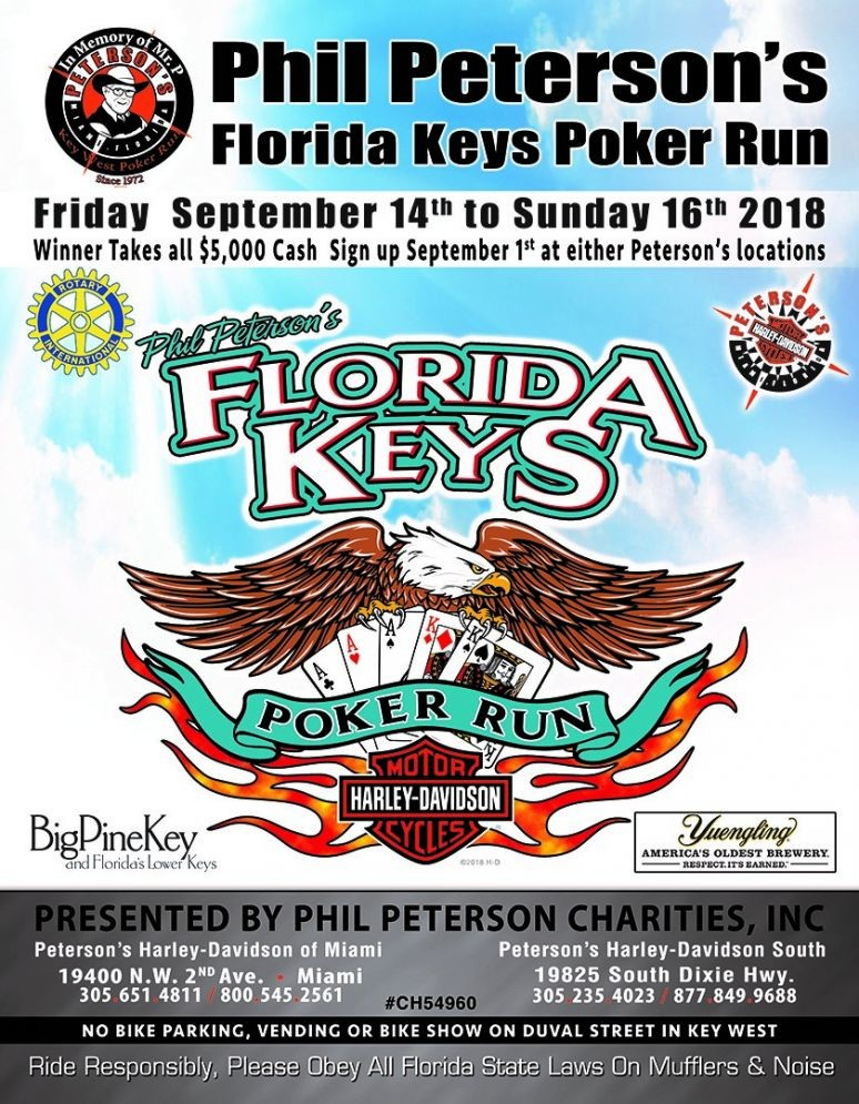 Phil Peterson's 46th Annual Florida Keys Poker Run 2019