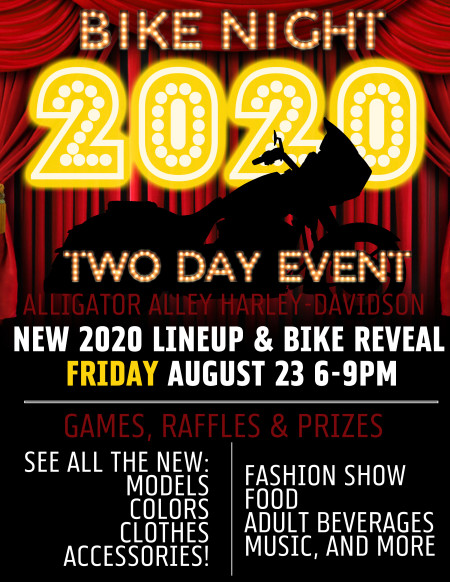 Exclusive 2020 Unveiling Bike Night