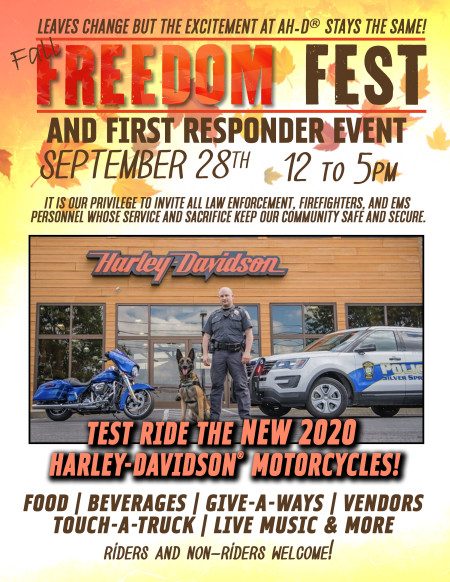 Fall Freedom Fest and First Responder Appreciation event