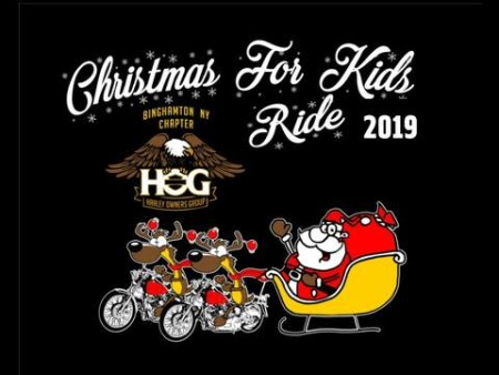 Christmas for kids ride 2019