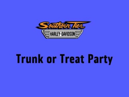 Trunk Or Treat Party