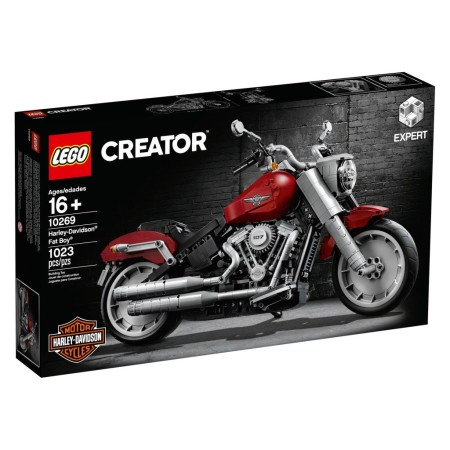 The LEGO Group reveals its latest LEGO® Creator Expert model – a Harley-Davidson® Fat Boy.®
