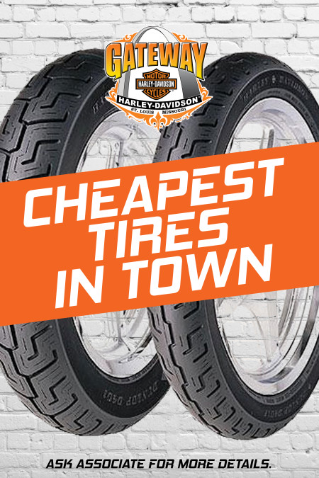 We have the Cheapest Tires in Town!